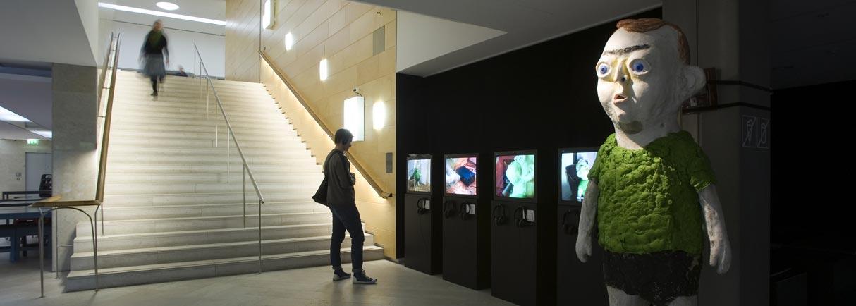 Dockpojken på Moderna Museet